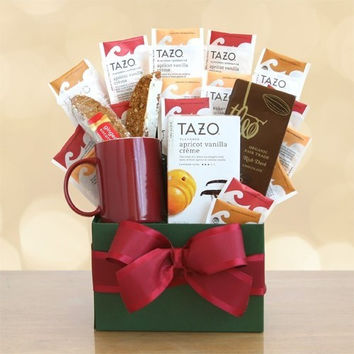 Tazo Tea Temptations Gift Basket