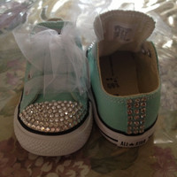 Toddler Bling converse-custom orders