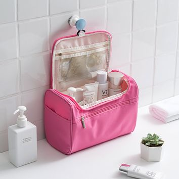 Waterproof Hook Cosmetic Storage Bag