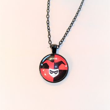 DC Comics Harley Quinn Pendant Necklace