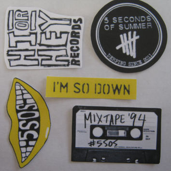 5 Seconds Of Summer - 5sos stickers #2