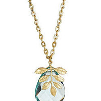 Max & Chloe - Privileged Aqua Quartz Necklace - Max and Chloe