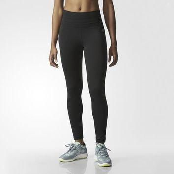 adidas Performer High-Rise Long Tights - Blue | adidas US