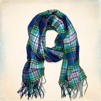 Colorful Vintage Scarf