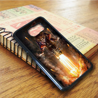 Rocket Raccoon Guardian Galaxy Samsung Galaxy S6 Edge Case