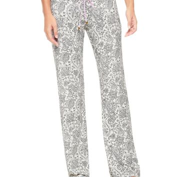 Angel Doodle Paisley Sleep Essentials Pant by Juicy Couture,