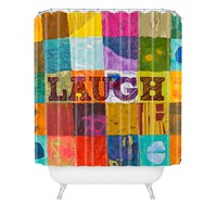 Elizabeth St Hilaire Nelson Laugh Shower Curtain