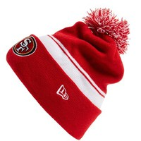 Men's New Era Cap 'NFL - San Francisco 49ers' Pom Knit Cap