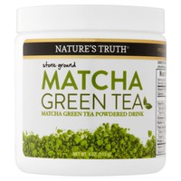 Nature's Truth Matcha Green Tea Powder, 4.0 Oz - Walmart.com