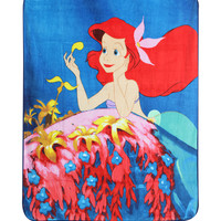 Disney The Little Mermaid Micro Raschel Throw
