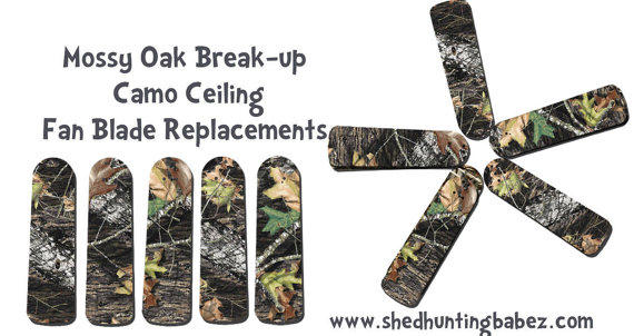 Mossy oak break up camo ceiling fan from shedhuntingbabez on etsy aloadofball Image collections