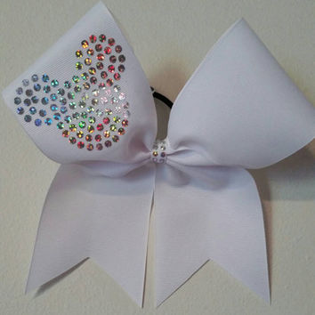 Disney Cheer bow, Cheer Bow, Disney bow, Summit or Worlds bow