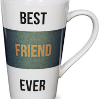 Best Friend Ever Latte Mug