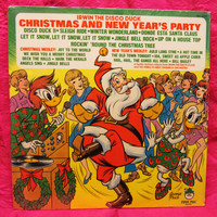 Amazing Irwin The Disco Duck Christmas And New Year's Party Peter Pan 8203  Vinyl Record LP 33 Sealed