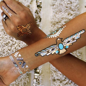 Flash Tattoos - Desert Dweller