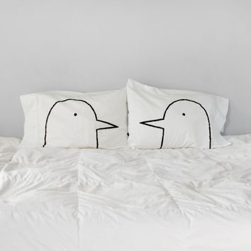 Lovebirds Pillowcase Set