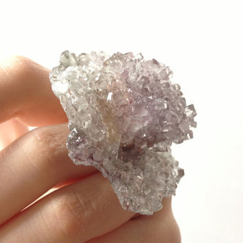 Violet Licorice Fancy Ring Pop - edible rock candy ring