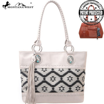 Montana West MW114G-8317 Aztec Concealed Carry Handbag