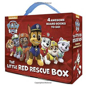 The Little Red Rescue Box Paw Patrol BRDBK