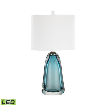 Ms. Poole LED Table Lamp Blue