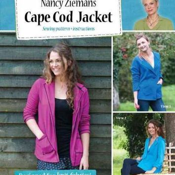 Cape Cod Jacket: Sewing Pattern + Instructions
