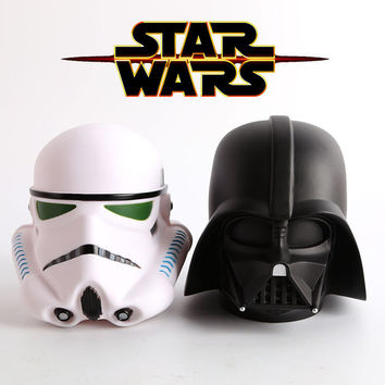 14cm Star Wars Darth Vader Stormtrooper Cute Coin Bank Piggy Bank Money Saving Box Money box Figure Box Toy For Kids Gift
