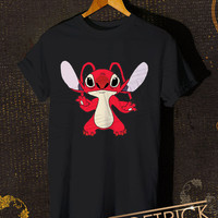 Stitch Red-Stitch Experimen Women T-Shirt - Lilo and Stitch  T-Shirt - Disney Design For Women T-Shirt (All Color Available)