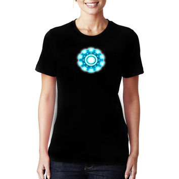 Iron Man Arc Reactor Women and Men Shirt, Black Shirt, Full Expression Shirt, Be Different Shirt