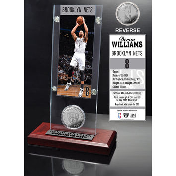 Deron Williams Ticket & Mint Coin Acrylic Desktop