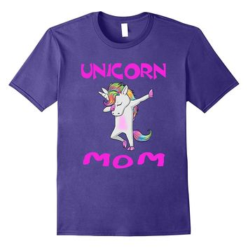 Unicorn Mom unicorn dab dance T shirt