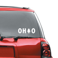 Ohio Tree Window Sticker