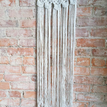 Large Macrame Wall Hanging/Curtain
