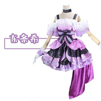 Anime! Lovelive sj Season 2 kira kira sensation All Members Cosplay Costume Stage Dress Free Shipping