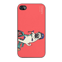 pug hater case for iphone 4 4s