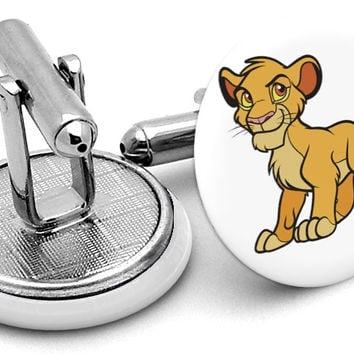 Simba Lion King Cufflinks