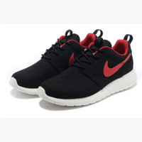 NIKE Women Men Running Sport Casual Shoes Sneakers Black