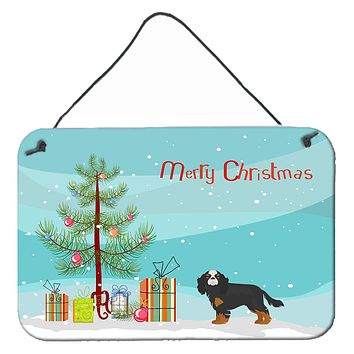 Cavalier King Charles Spaniel Christmas Tree Wall or Door Hanging Prints CK3465DS812