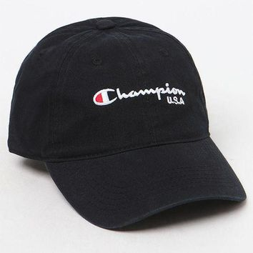 PEAPONDI5 Champion Classic Twill Dad Hat