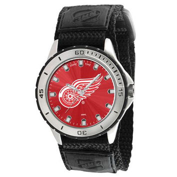 Detroit Red Wings NHL Mens Veteran Series Watch