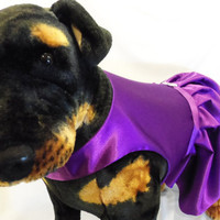RockinDogs Large Dog Custom Bridesmaid Dog Dress--Match your Wedding colors