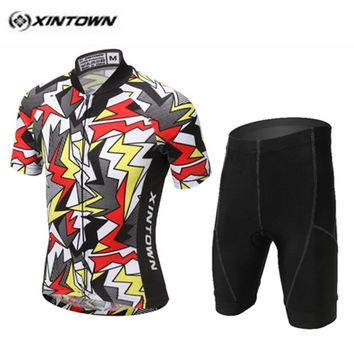 Cycling Jersey kids Bike jersey Shorts sets pro Children MTB Cycling Clothing Girls Boy Bicycle Jersey 2018 Sportswear Colorful