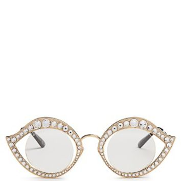 Crystal-embellished glasses | Gucci | MATCHESFASHION.COM US