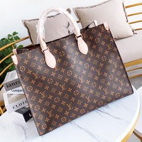 Louis Vuitton LV Popular Women Shopping Bag Leather Handbag Crossbody Satchel Shoulder Bag
