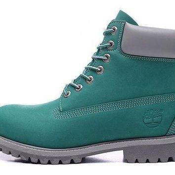 PEAP8KY Timberland Rhubarb Boots 2018 Green Waterproof Martin Boots 40-45