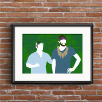 Survivor Poster - Survivor Print - Worlds Apart Print - Jeff Probst Poster - TV Poster - Wall Art - Home Decor - Geek Gift - Reality TV