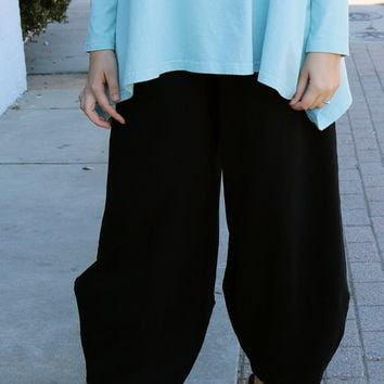 Oliver Pant Knit - Black by Pacificotton by Bryn Walker