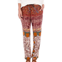 DAMASK PATTERN HAREM PANTS - TROUSERS AND SHORTS - WOMAN - PULL&BEAR United Kingdom