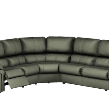 Large Reclining True Sectional Color Customizable Sofa Daley by Palliser