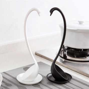 kitchen gadget Swan Ladle Spoons Unique Swan Shaped PP Ladle Special Swan Spoons Useful Kitchen Cooking Tool Plastic Ladle Worldwide Store