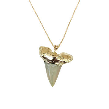 SINI GM SHARK TOOTH NECKLACE